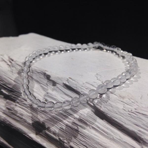 Bracelet billes Cristal de Roche