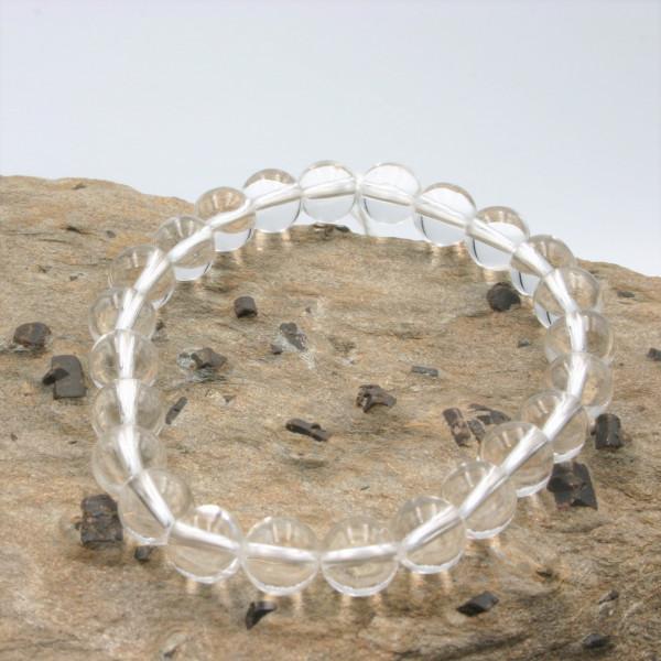 """Bracelet Quartz """"cristal de roche"""""""