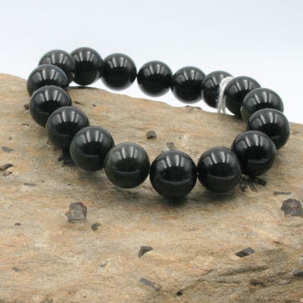 """Bracelet Obsidienne """"œil céleste"""""""